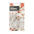 Ear Buds Earphones Duck with red Hearts