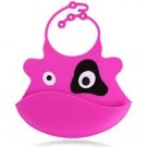 Silicone Baby Bib Cow