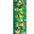 3-D Bookmark Frogs