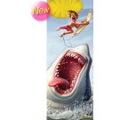 3-D Bookmark Shark attack