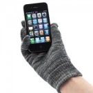 Touch Screen Gloves Cotton Grey M