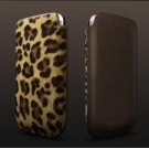 iPhone 4 Leather Case Leopard