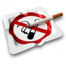 No Smoking Ashtray
