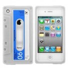 Iphone 4 Cover Cassette Soft Case