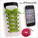 Silicon Case iShoes For iPhone 4